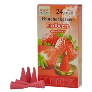Räucherkerzen  -  Erdbeere 35g, 24 Stk. Packung