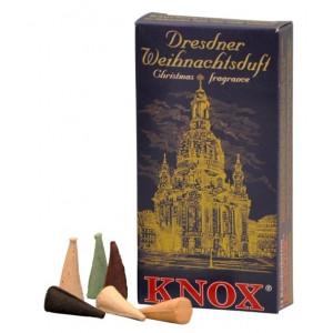 Dresdner Weihnachtsduft Räucherkerzen Mischung 35g, 24 Stk. Packung