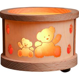 Teelichtlaterne Teddys