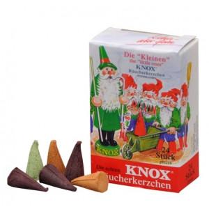 Räucherkerzen KNOX Minis Mischung, 24 Stück