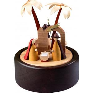 Spieldose Christi Geburt, modernes Design