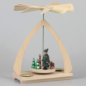 Weihnachtspyramide Jäger