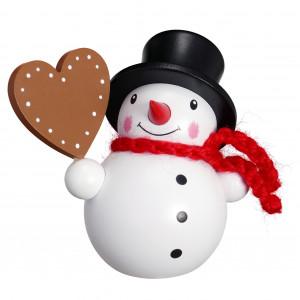 Schneemann mit Herz