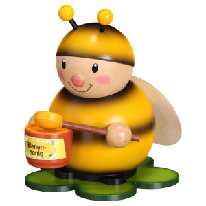 Hummel mit Honigtopf groß