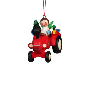 Baumbehang Traktor mit Engel