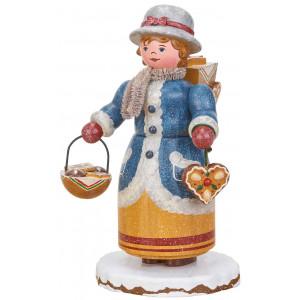 Räuchermann Winterkinder Lebkuchenhändlerin