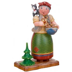 "Räuchermann Räucherfrau Hexe ""Knusper, knusper..."""