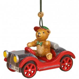 Baumbehang Auto mit Teddy