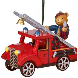 Baumbehang Feuerwehr mit Teddy