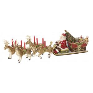 Santas Schlittenfahrt, 19 cm