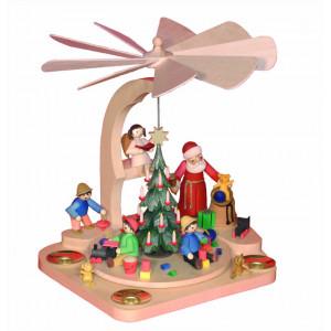 Ulmik Treppenpyramide Weihnachtsmann