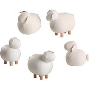Schafe, 5-teilig