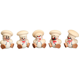 Baumbehang Kugelfiguren Koch, 5-teilig