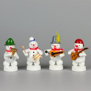 Schneemannkapelle E-Gitarre, Topf, Drehleier, Horn