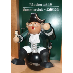 Sammlerclub Edition 2019/2020 Kantenhocker Münchhausen auf Kanonenkugel