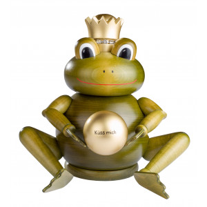 Räuchermännchen Froschkönig