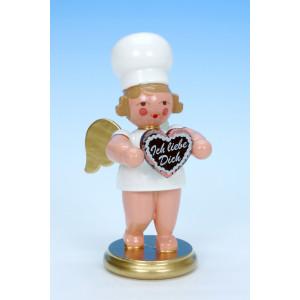 Bäckerengel mit Herz