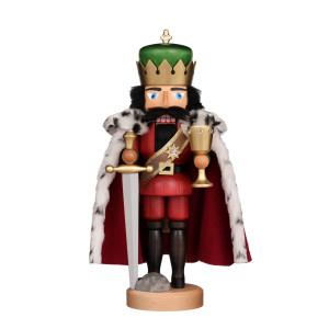 Nussknacker König Arthur, lasiert