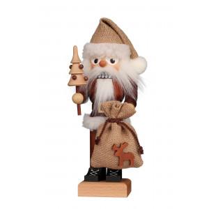 Nussknacker Weihnachtsmann natur
