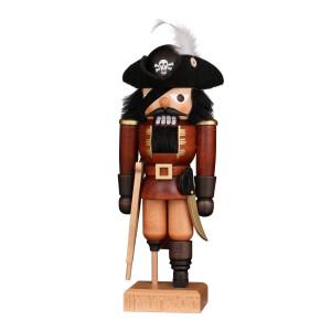 Nussknacker Pirat natur