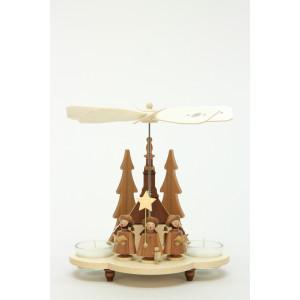 Pyramide Weihnachtsmann Kurrende natur