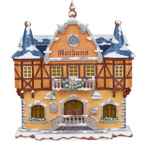 Winterkinder Winterhaus Rathaus