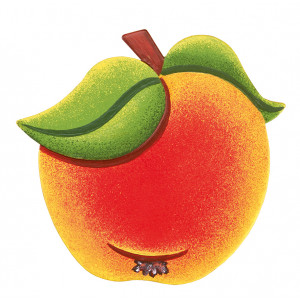 Magnetpin Apfel