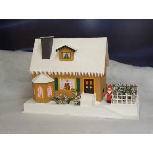 Lichterhaus Haus mit Weihnachtsstube