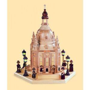 Frauenkirche Dresden, groß, 120 Volt