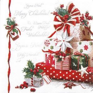Tischservietten Weihnachtsgeschenke
