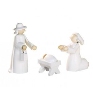 Figurengruppe Heilige Familie 3-teilig