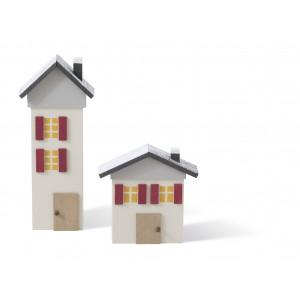 Häuser, 2-teilig