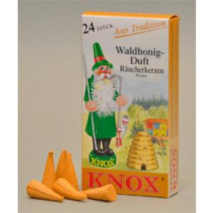 Räucherkerzen  - Klassisch Waldhonig 35g, 24 Stk. Packung