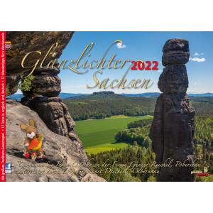 Kalender 2022 Glanzlichter Sachsen