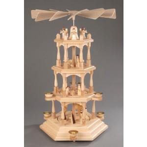 Pyramide Christi Geburt 4 Etagen