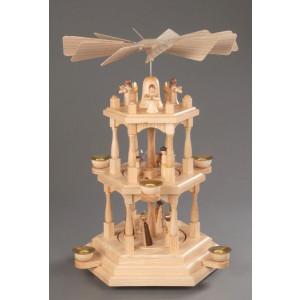 Pyramide Christi Geburt 3 Etagen