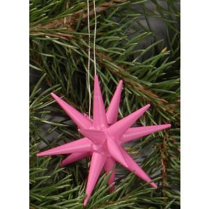 Holzsterne 4-teilig groß - pink