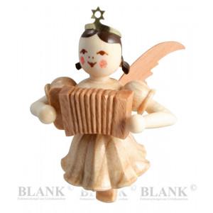 Engel schwebend mit Ziehharmonika