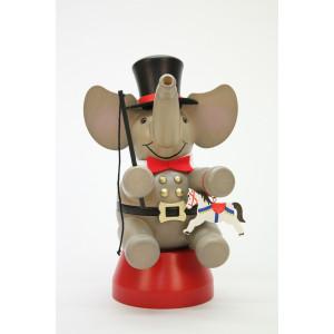 Räuchermännchen Elefant Zirkusdirektor