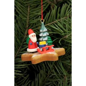 Baumbehang Nikolaus auf Lebkuchenstern