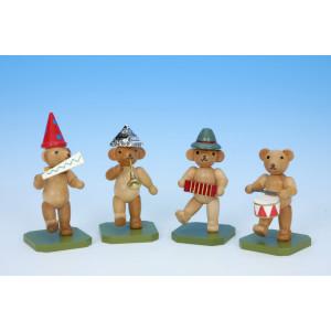Teddybärenkapelle 4-teilig