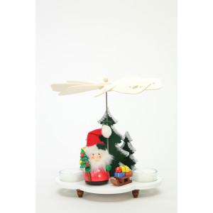 Pyramide Weihnachtsmann mit Schlitten