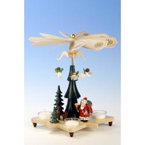 Pyramide mit Weihnachtsmann