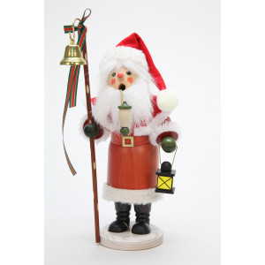 Räuchermännchen Weihnachtsmann mit Laterne