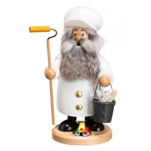 Räuchermannwichtel Maler mit Bart