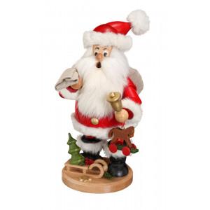 Räucherwichtel Weihnachtsmann mit Geschenke