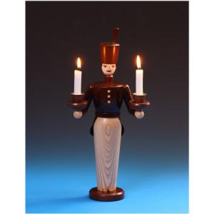Lichterbergmann lasiert, 36 cm