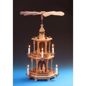 Pyramide 2-stöckig Christi Geburt