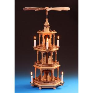 Pyramide 3-stöckig Christi Geburt