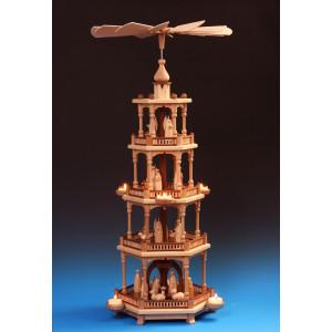 Pyramide 4-stöckig Christi Geburt